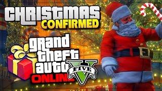 GTA 5 Online Christmas DLC Confirmed - Heist Release Date GTA Online Update! - (GTA V Gameplay)