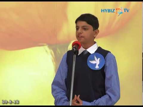 Nasr Boys School Student Performs War & Peace