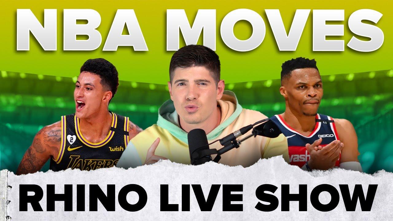 NBA Trade Reactions   Rhino Live