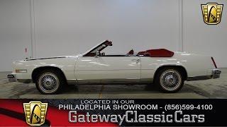 1984 Cadillac Eldorado Biarritz, Gateway Classic Cars Philadelphia - #006