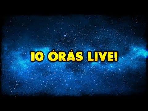 [LIVE] 10 ÓRÁS MÓKA ! (EDZÉS A 24 ÓRÁSRA! :D)