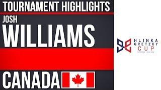 Josh Williams | Hlinka Gretzky Cup | Tournament Highlights