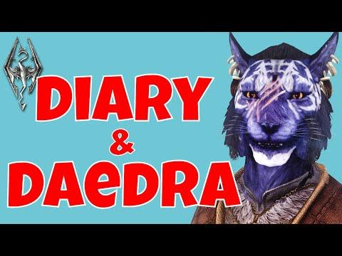 Diary & Daedra. Inigo. Elder Scrolls V: Skyrim