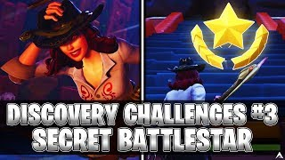 SECRET BATTLESTAR! Week 3 Discovery Challenges (Fortnite Season 8)