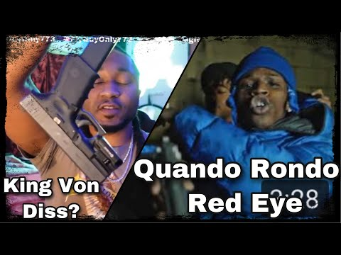 Chicago guy reaction to Quando Rondo – Red Eye (Official Video) king Von Diss?