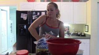 Quick Easy Chicken Cranberry Pecan Chopped Salad