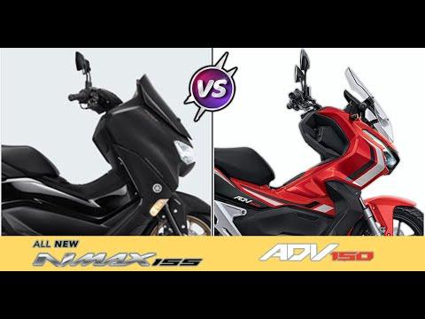 2020 Yamaha Nmax 155 VS 2020 Honda ADV 150 - Specification Review.