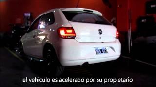 CañoSport - Volkswagen Gol 1.6 con escape completo silenPro