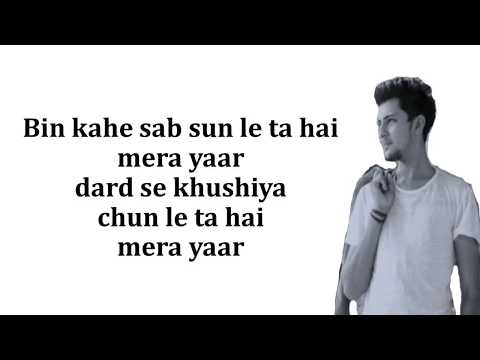 Yaara Teri Yaari  Lyrics    Darshan Raval  Latest Song