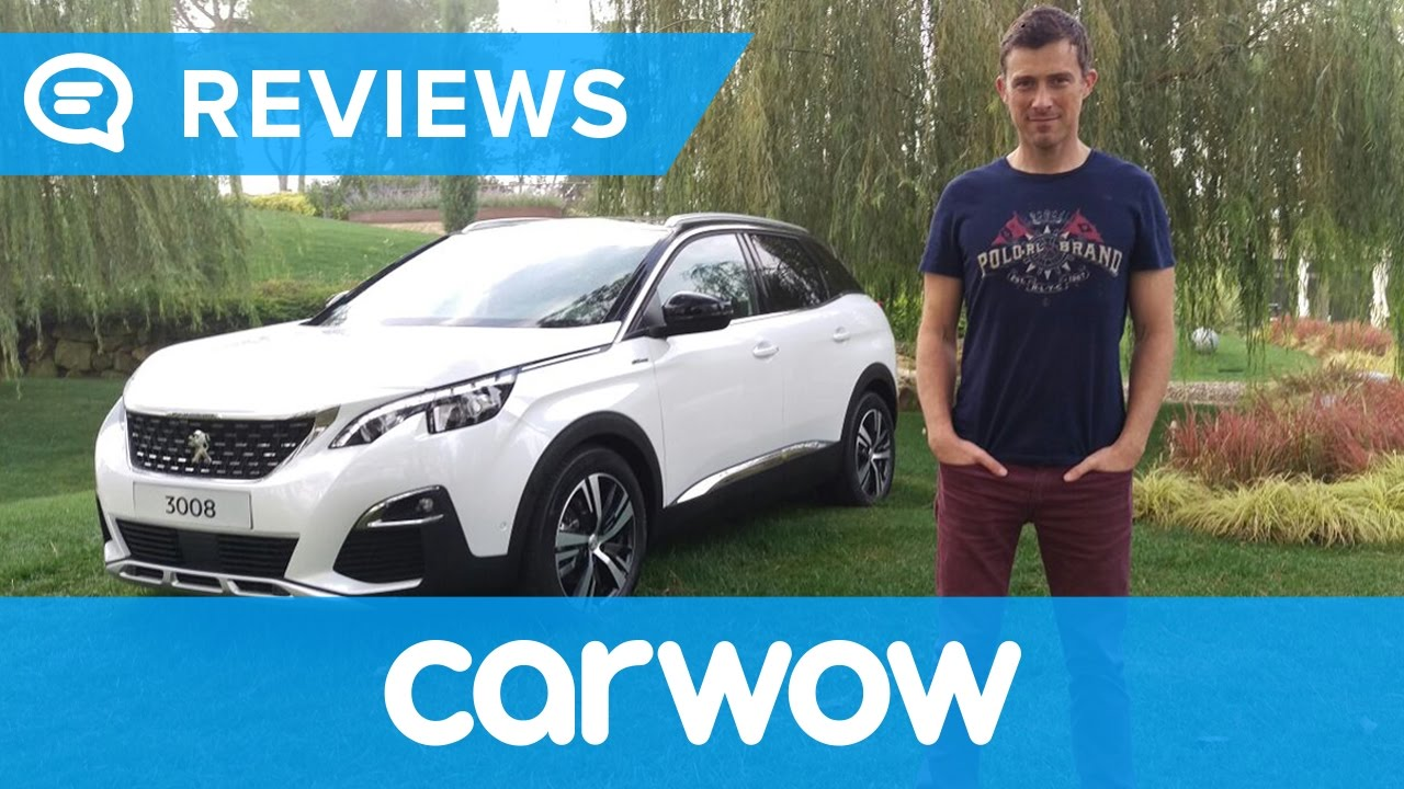 peugeot 3008 2017 suv review | mat watson reviews - youtube