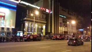Ликвидация пожара в Галерее Чижова 2 апреля 2017 года