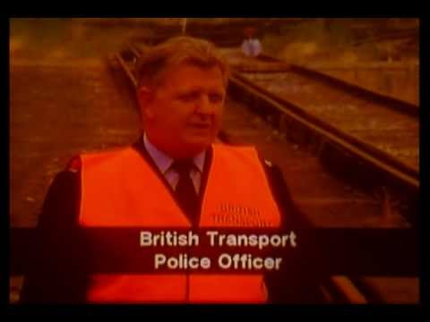 KILLING TIME British Rail safety film for schools (1992) - U