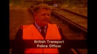 KILLING TIME     British Rail safety film for schools (1992) NEW TRANSFER