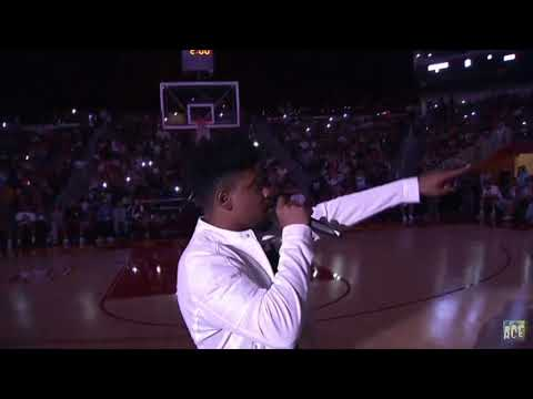 GLENN TRAVIS PERFORMING AT THE ACE FAMILY BASKETBALL EVENT! Full Performance