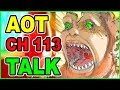 Is Levi Playing With Beast Titan Banana? | ATTACK ON TITAN Chapter 113 Discussion