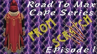 Road to Max Cape From Scratch Ep. 1 Out of the Wood Works