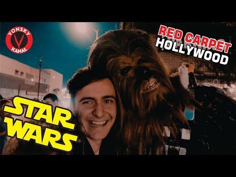 Premiera STAR WARS w HOLLYWOOD - Czerwony Dywan w USA
