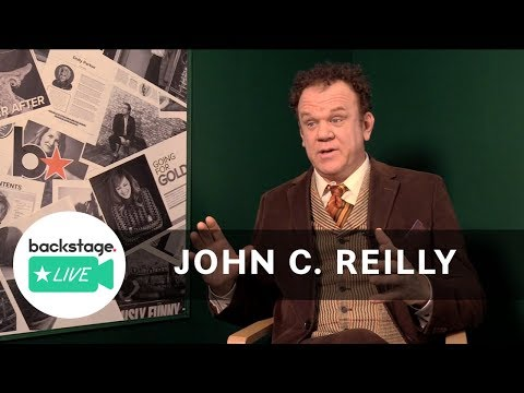 What John C. Reilly Learned in Acting School | Backstage Live