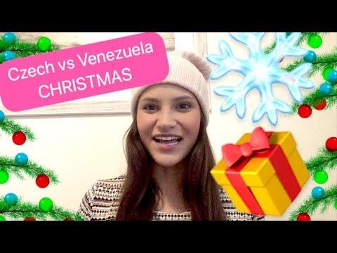 Czech christmas vs Venezuelan christmas