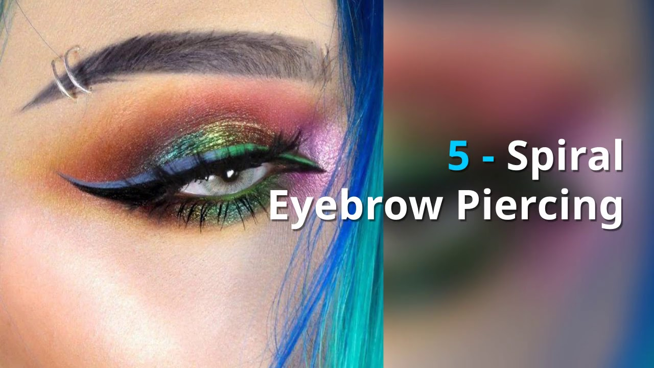 Eyebrow Piercing Guide Pain Care Healing Time Cost Youtube