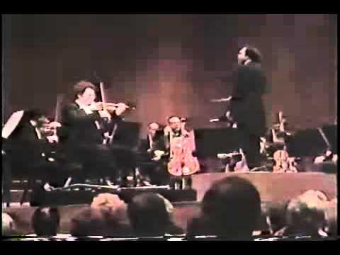 №114  Itzhak Perlman Mendelssohn Violin Concerto finale