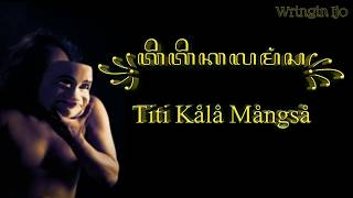 Titi Kala Mangsa - Sujiwo Tejo