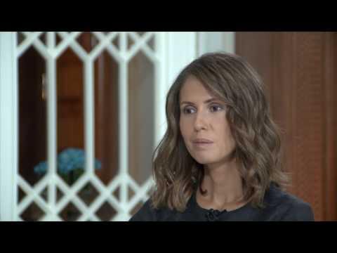asma-alassads-interview-assad-wife