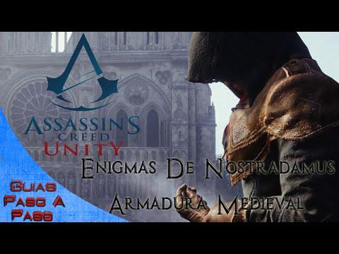Assassin's Creed Unity | Enigmas de Nostradamus y la Armadura medieval
