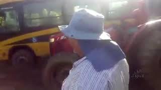 Sofrimento dos alunos da zona rural de PALHANO pelo completo abandono das estradas vicinais que estã