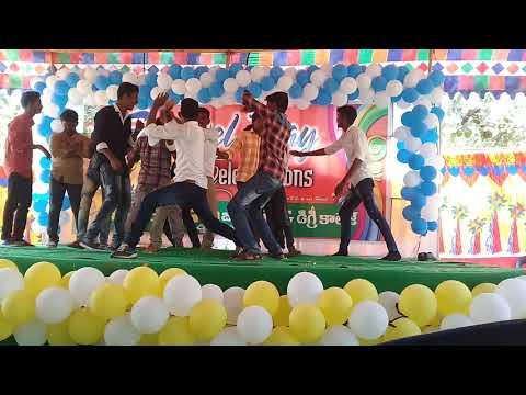 Nagini dance in vikas junior college   senior inter batch
