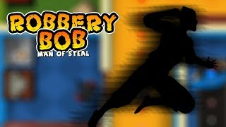 Robbery Bob™ - Level Eight AB Chapter 1- NINJA CUIT Part 3 Slip In Walkthrough   New Game Plus
