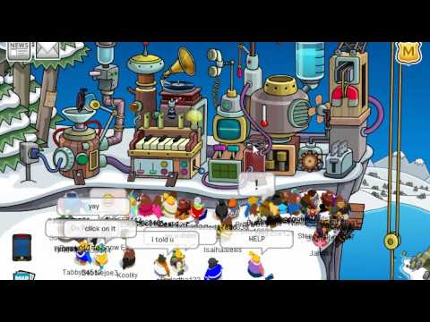 Club Penguin Wilderness Expedition 2011 Cheats + Brown Puffle
