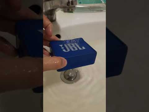 JBL GO Water Test