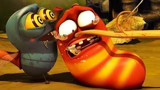 LARVA | TIRA Y AFLOJA | Película de dibujos animados | Dibujos animados para niños | WildBrain