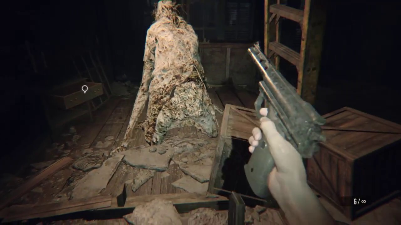 Resident Evil 7 Marguerite Boss Fight Madhouse Difficulty The