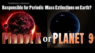 Planet X aka Planet 9 is responsible for Periodic Mass Extinctions on Earth! So says a Scientist.