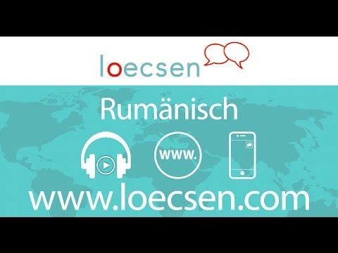 Rumänisch lernen für Anfänger | Vokabeln zum nachsprechen Teil 1 from YouTube · Duration:  1 minutes 28 seconds