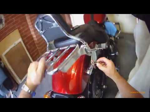 Sport Glide, Sissy Bar, Luggage Rack, Installation, Harley Davidson