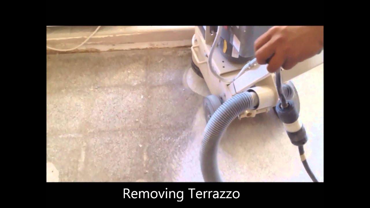 Removing Terrazzo Youtube