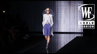 giorgio armani spring summer 2017 milan fashion week