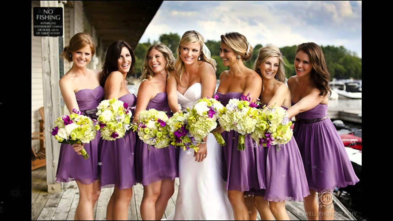 Purple Bridesmaid Dresses collection 2015 from ...