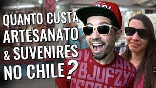 Compras no Chile: quanto custa artesanato e suvenires em Santiago?