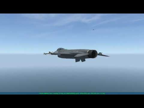 Falcon BMS 4.33u1 - Getting my ass handed to myself by Jaws[72nd]