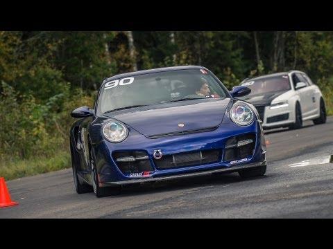 Fastest Porsche 911 (1200 HP) ever on 1 mile