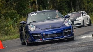 Fastest Porsche 911 (1200 HP) ever on 1 mile