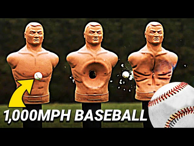 Trying to Catch a 1,000 MPH Baseball - Smarter Every Day 247