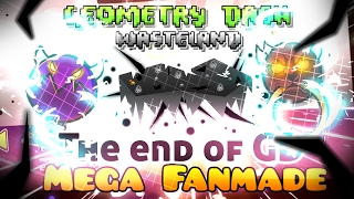 [MEGA FANMADE] GEOMETRY DASH WASTELAND, THE DESTRUCTION OF GD, THE BLACK GAUNTLET...!! || by PhoeniX
