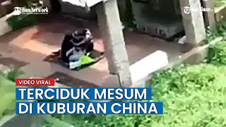 VIRAL Video Sepasang Kekasih Kepergok Mesum Di Kuburan China Siang Hari