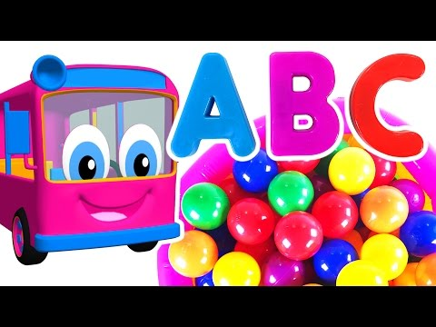 Kids Learn Colors & ABCs with Surprise Eggs | Teach ABC Song & Colors Rhymes for Children & Toddlers