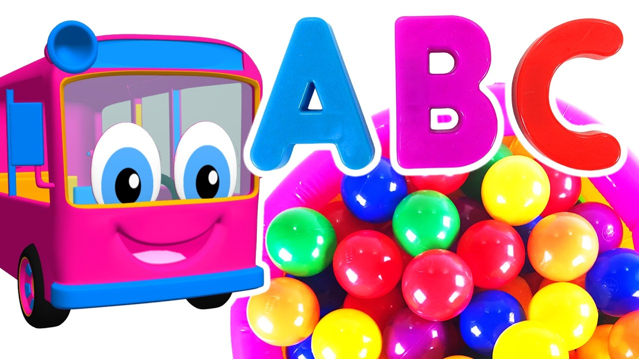 Kids Learn Colors & ABCs with Surprise Eggs | Teach ABC Song ...